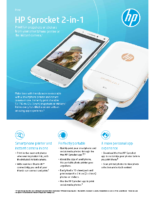 HP Sprocket 2-in-1 (Black)